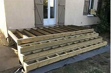 structure terrasse bois extr 234 mement amenagement terrasse bois cr83 montrealeast