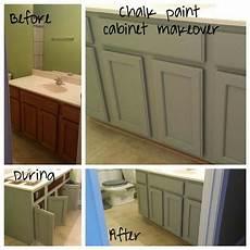 chalk paint cabinet makeover using valspar color woolen