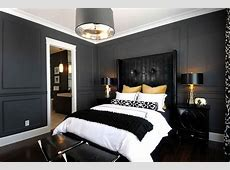 Black and White Painted Rooms   Interesting Ideas for Home