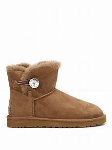 ugg mini bailey button bling ankle boot ankle boots