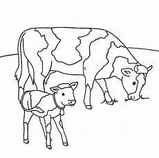 Ausmalbilder Vom Bauernhof Kostenlose Malvorlage Bauernhof K 252 He Auf Der Weide Zum