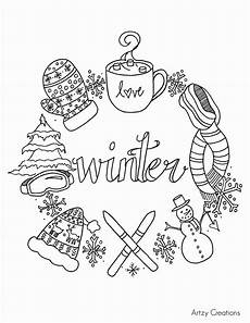 winter coloring pages for adults at getcolorings