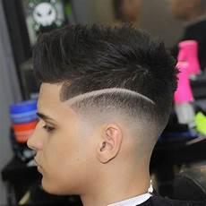 coupe de cheveux homme d 233 grad 233 avec trait comment l