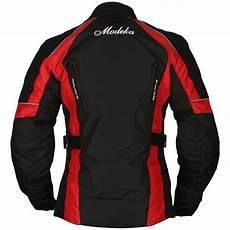 modeka janika damen touring motorradjacke textil schwarz