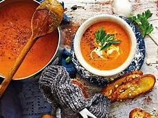 kürbissuppe im thermomix butternut k 252 rbis 173 suppe mit chili und ingwer rezept
