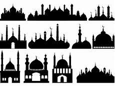 Masjid Vector Png Hd Gambar Islami