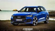 2019 Audi Rsq3 2019 audi q3 rendered in rs trim looks freaking fantastic