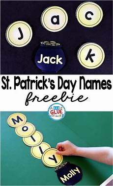 s worksheets 20270 st s day names name building practice printable st patricks activities st