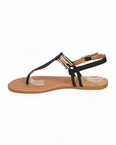 qupid archer 121 snakeskin gold plated slingback t sandal ebay