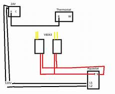 honeywell boiler wiring diagram diagram for honeywell at72d 2 v8043e2012 1 thermostat doityourself community forums