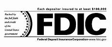 fdic or federal deposit insurance corporation