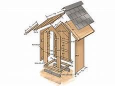 Geräteschuppen Pultdach Selber Bauen - zeichnung des ger 228 teh 228 uschens oder auch toilettenh 228 uschen