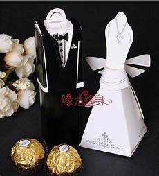 100pcs wedding favor boxes gift paper bags candy boxes