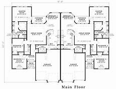 duplex house plans with garage 19 best simple duplex floor plans with 2 car garage ideas