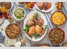 Houston's Best Thanksgiving Day Catering Options 2017