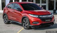 honda brv 2020 malaysia honda hr v facelift launched in malaysia four variants