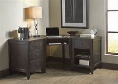 black home office furniture autumn oaks ii black home office set from liberty