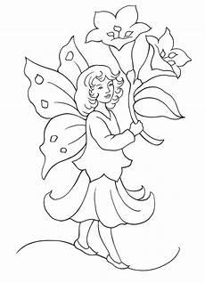 Malvorlagen Fee Malvorlagen Fee Und Lilien