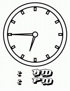 Malvorlagen Uhr Chords Free Printable Clock Coloring Pages For Coloring