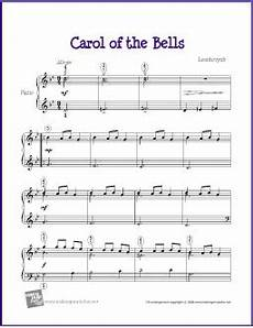 carol of the bells free sheet music lyrics and video