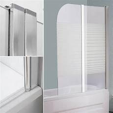 glas badewannen duschabtrennung satiniert streifen