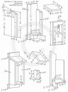 western bluebird house plans western mountain bluebird birdhouse plans 70birds
