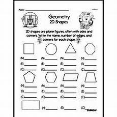 geometry worksheets second grade 887 second grade geometry worksheets 2d shapes edhelper