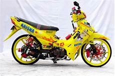 Modifikasi Yamaha Jupiter Z by Tante Girang Modifikasi Keren Motor Yamaha Jupiter Z