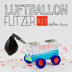 diy balloon racer playful crafty auto basteln