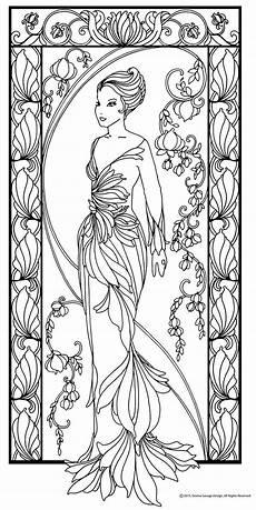 Jugendstil Malvorlagen Blumen Album Archiv Ich Liebe Papierpuppen Album Archiv