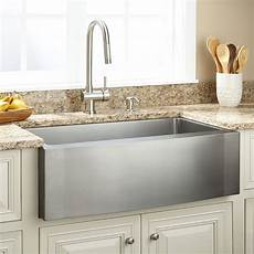 pictures of kitchen sinks and faucets new 33 in single bowl kitchen sink stainless farmhouse hs3320s wiener s wholesale