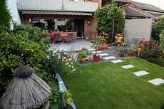 Gartengestaltung Reihenmittelhaus Modern