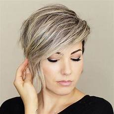 stylish short hairstyles for thick hair short haircut ideas 2020