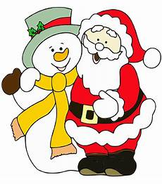 santa claus snowman merry 183 free image on pixabay