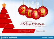 2019 vector christmas greeting card template merry christmas and happy new year design elements