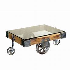 mill cart coffee table 5 best factory cart coffee tables with wheel legs tool