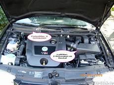 Motorraum Golf Iv Luftfilterkasten Entfernen Vw Golf 4