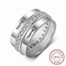 925 sterling silver personalized rings for women cubic
