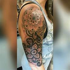 Mandala Oberarm - image result for feminine sleeves stuff tattoos