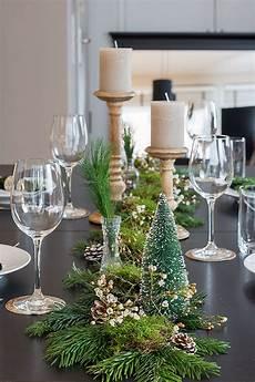 weihnachtliche tischdeko mit naturmaterialien sch 246 n bei