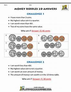 money riddle worksheets 2303 money math worksheets money riddles