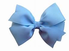 Light Blue Hair Bow 4 inch light blue hair bow light blue bow pinwheel bows