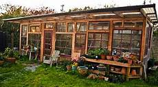 Treibhaus Selber Bauen - build a greenhouse from windows do it yourself ideas