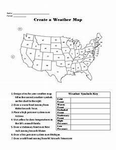 weather map worksheets 6th grade 14617 blank weather map worksheet geotwitter activities