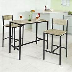 ensemble de table de cuisine sobuy 174 ensemble table de bar 2 chaises table haute cuisine
