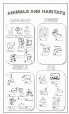 animal habitat worksheets 13889 animal worksheet new 510 animal habitat worksheets for 2nd grade