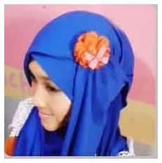 Kreasi Jilbab Pashmina Untuk Pesta