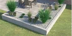 Beeteinfassung Terrassenumrandung Setzen Garten