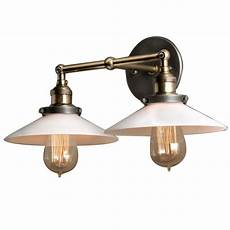 modern vintage industrial loft metal double rustic sconce wall light wall l in wall ls