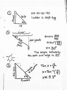 trigonometry word problems worksheets with answers 11171 sohcahtoa worksheet homeschooldressage
